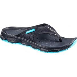 Zapatillas descanso Salomon Rx Break negro/turquesa mujer