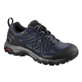 Zapatillas trekking Salomon Evasion 2 Gtx azul oscuro hombre