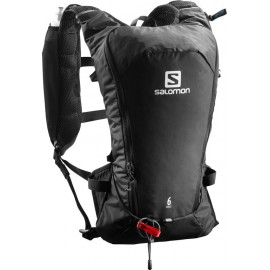 Mochila trail running Salomon Agile 6 Set negro