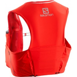 Mochila trail running Salomon S/Lab Sense Ultra 5 Set rojo