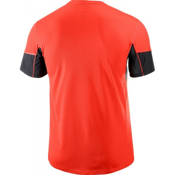 Comprar Camiseta Salomon M C Agile Rojo Hombre - Deportes Moya 15a9a2ccb08