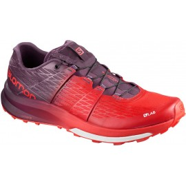 Zapatillas trail running Salomon S/Lab Ultra roja hombre