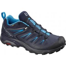 Zapatillas trekking Salomon X Ultra 3 GTX azul marino hombre
