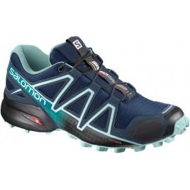 Zapatillas trail Salomon Speedcross 4 azul marino mujer