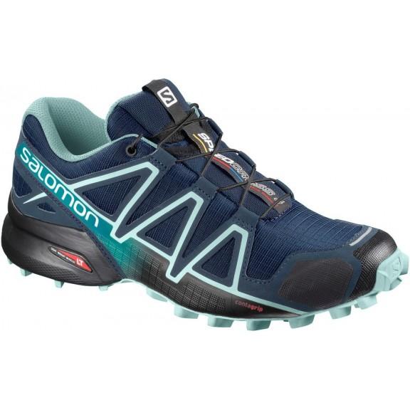 precio favorable precios de remate super servicio Zapatillas Trail Salomon Speedcross 4 Azul Marino Mujer