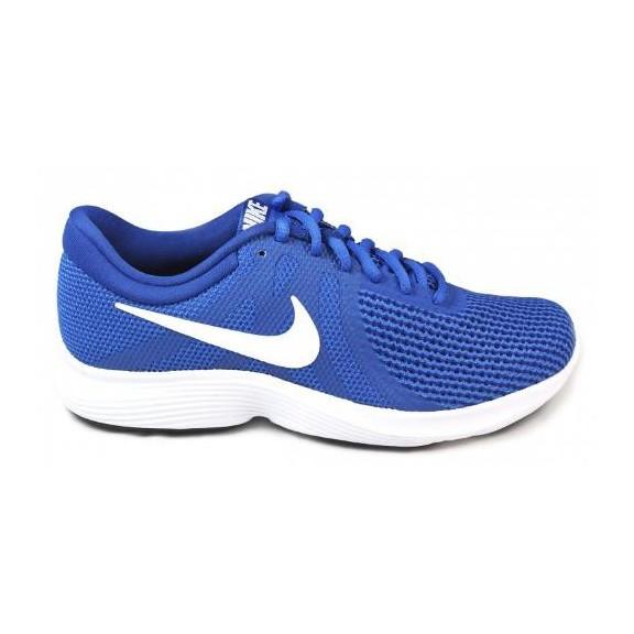 zapatillas azules nike