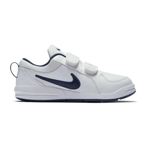 a42cfb87a0f Zapatillas Nike Pico 4 (Psv) Blanco/Marino Niño - Deportes Moya