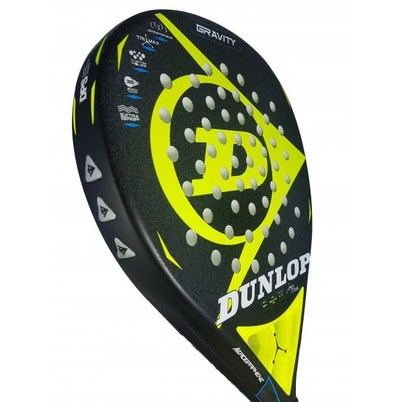 1ad59af29200 Comprar Pala Dunlop Gravity 2018 Negro Amarillo - Deportes Moya