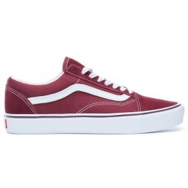 Zapatillas Vans Old Skool Lite burdeos/blanco unisex