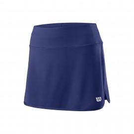 Falda tenis/padel Wilson Team 12.5 azul mujer