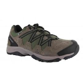 Zapatillas trekking Hi-Tec Dexter Low Wp verde hombre