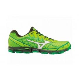 Zapatillas trail running Mizuno Wave Hayate 4 verde hombre