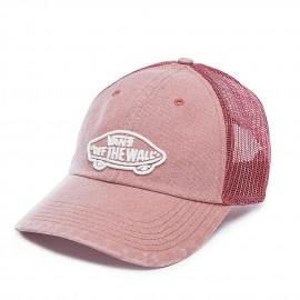 Gorra Vans Off The Wall rojo