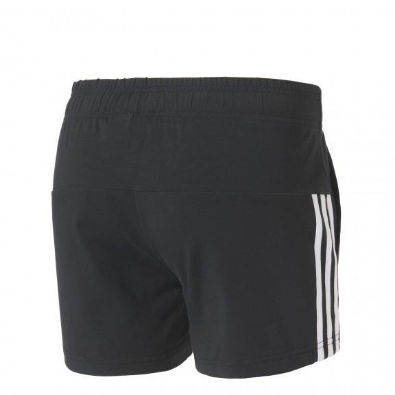 Pantalón Corto Adidas Essentials 3 Bandas Negro Mujer - Deportes Moya a18db6d8ff64