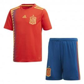 Miniconjunto Adidas 1ª Equipación España jr