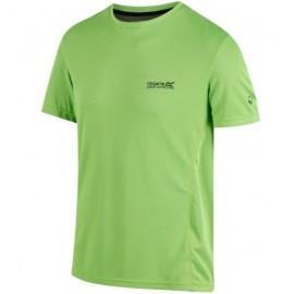 Camiseta tecnica Regatta verde  hombre