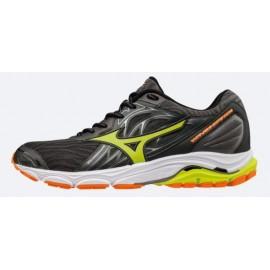 zapatillas de running mizuno waveknit r2 negro hombre
