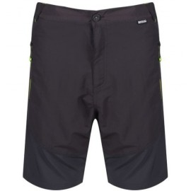 Pantalon montaña Regatta Sungari short gris hombre