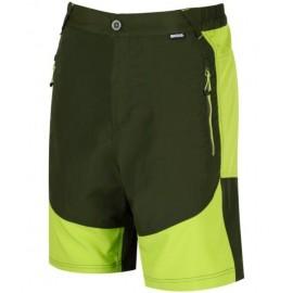 Pantalon montaña Regatta Sungari short verde hombre