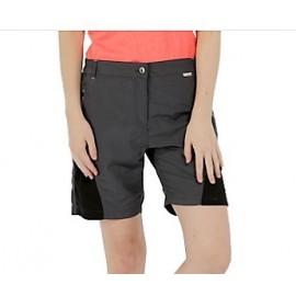 Pantalon montaña Regatta Sungari short gris mujer