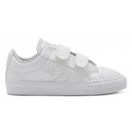 Zapatillas Converse Star Player Ev 2v Ox blanco bebé