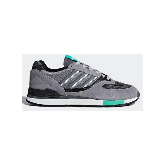 best service d864c b55d2 Zapatillas adidas Quesence gris verde hombre