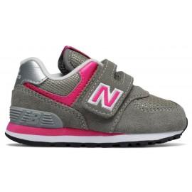 Zapatillas New Balance IV574GP gris/rosa bebé