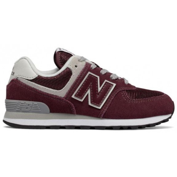 Zapatillas New Balance GC574GB burdeos junior