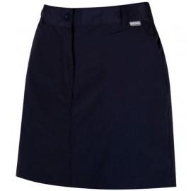 Falda pantalon senderismo Regatta Chaska marino mujer