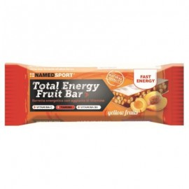 Barrita Total Energy NamedSport Fruit Bar Frutas 35g