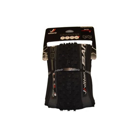 Cubierta Vittoria Barzo G+ TNT 27,5x2,1 Antracita/Negra