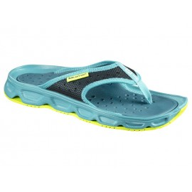 Sandalias descanso Salomon Rx Break verde mujer