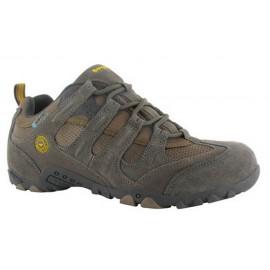 Zapatillas trekking Hi-Tec Quadra Classic WP marron hombre