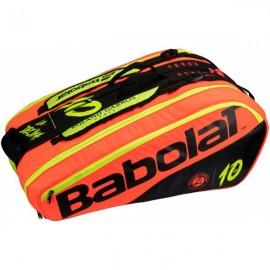 Raquetero Babolat RH12 Pure Decima Rolang Garros 2018
