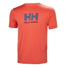 Camiseta manga corta Helly Hansen HH Logo naranja hombre