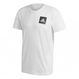 Camiseta adidas Confidential blanco hombre