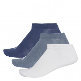 Calcetines tobilleros Adidas Performance azul/blanco/gris