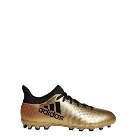 Zapatillas Fútbol Adidas X 17. 3 AG J dorado