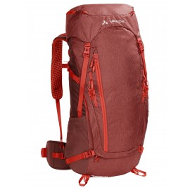 Mochila trekking Vaude Asymmetric 42+8L roja