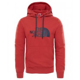 Sudadera con capucha The North Face Drew Peak rojo hombre
