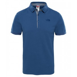 Polo The North Face Premium Pique azul hombre