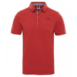 Polo The North Face Premium Pique rojo bossa nova hombre