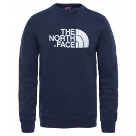 Sudadera The North Face Drew Peak Crew azul/blanco hombre