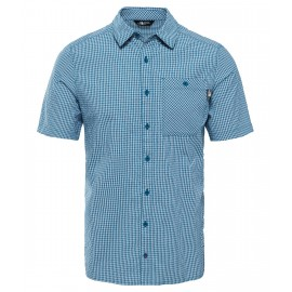 Camisa M/C The North Face Hypress azul coral hombre