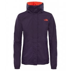 Membrana The North Face Resolve 2 morado mujer