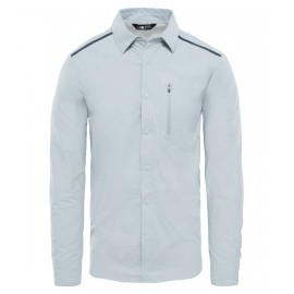 Camisa M/L The North Face Alpenbro Wvn gris hombre