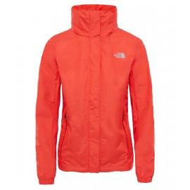 Chaqueta The North Face Resolve rojo mujer