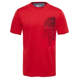 Camiseta M/C The North Face Ondras rojo hombre