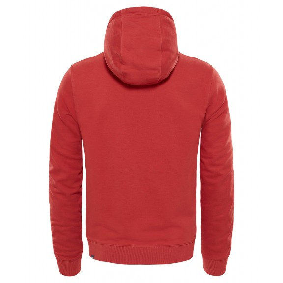 the north face rojo