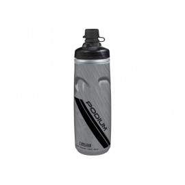 Bidon isotérmico Camelbak Podium Chill Dirt gris-negro 0.60L